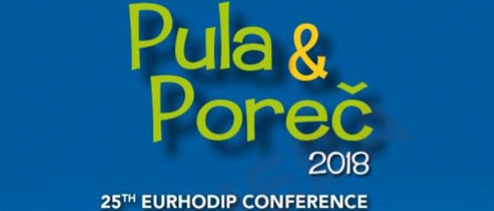 25th EURHODIP Conference in Pula and Poreč, Croatia